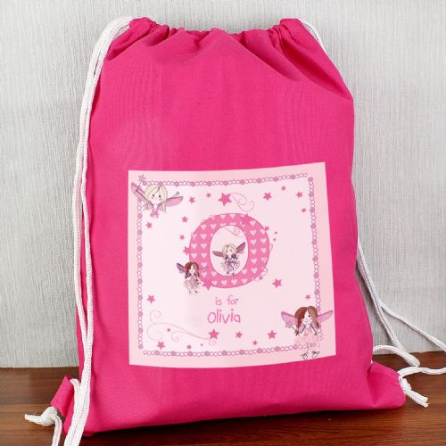 Personalised Fairy Letter Swim Bag
